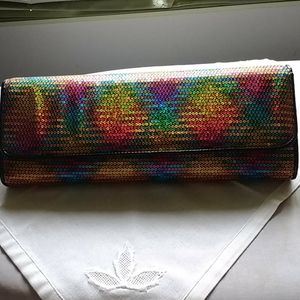 Aldo sequined clutch NWOT